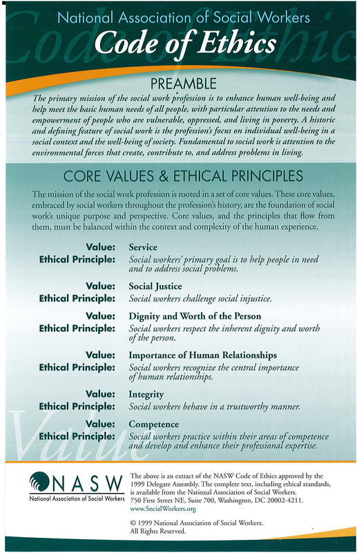 Amazing image for nasw code of ethics printable